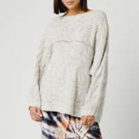 Free People Women's Against The Tide Sweater - Ivory - M