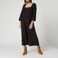 Free People Women's Iris Midi Dress - Black - S