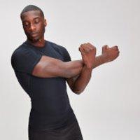 MP Mens Base Layer Short Sleeve T-Shirt - Black - XXXL