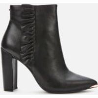Ted Baker Women's Frillil Leather Ankle Boot - Black - UK 3