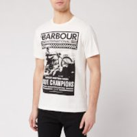 Barbour International Men's Archive Comp T-Shirt - Whisper White - M