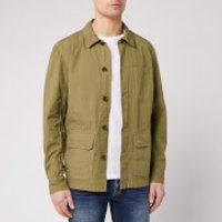 Barbour Men's Quenton Casual Jacket - Sand - M