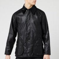 Barbour Heritage Mens Bedale Wax Jacket - Black - XL