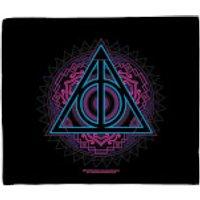 Harry Potter Deathly Hallows Fleece Blanket - Blanket Gifts