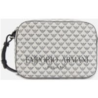shop for Emporio Armani Women's Frida Shoulder Bag - White/Black at Shopo