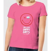 Collect Happy Days Women's T-Shirt - Pink - XL - Pink