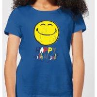 Happy With Myself Women's T-Shirt - Royal Blue - M - Royal Blue