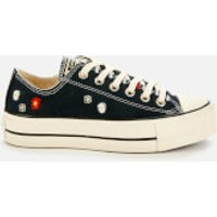 Converse Women's Chuck Taylor All Star Lift Ox Trainers - Black/Natural Ivory/Black - UK 8