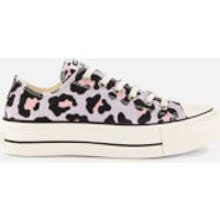 Converse Women's Chuck Taylor All Star Lift Ox Trainers - Vintage White/Multi/Black - UK 8