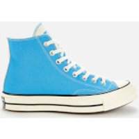 Converse Men's Chuck 70 Twisted Tongue Hi-Top Trainers - Blue Coast/Black/Egret - UK 10