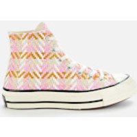 Converse Women's Chuck 70 Hi-Top Trainers - Egret/Multi/Black - UK 5