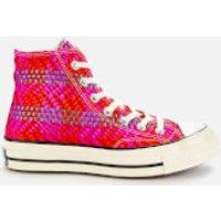 Converse Women's Chuck 70 Hi-Top Trainers - Cherry Red/Pink Pop/Egret - UK 8