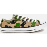 Converse Men's Chuck Taylor All Star Camo Ox Trainers - Black/Candied Ginger/White - UK 7