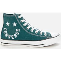 Converse Men's Chuck Taylor All Star Smile Hi-Top Trainers - Faded Spruce/Black/White - UK 8