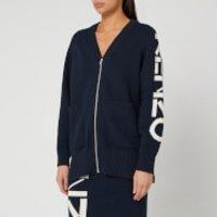 KENZO Women's Kenzo Sport Zipped Cardigan - Midnight Blue - L
