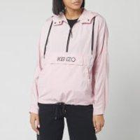 KENZO Women's Hoody Packable Windbreaker - Faded Pink - UK 8/EU 38