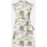 KENZO Women's Shirting Belted Dress - Off White - UK 8/EU 38