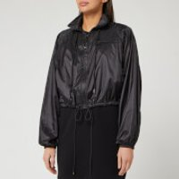 KENZO Women's Cropped Packable Windbreaker - Black - L