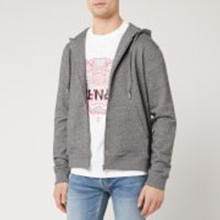 KENZO Men's Sport Zip Up Hoody - Anthracite - M