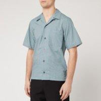 KENZO Men's Tiger Monogram Short Sleeve Shirt - Mint - L
