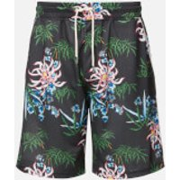 KENZO Men's Technical All Over Print Shorts - Black - L