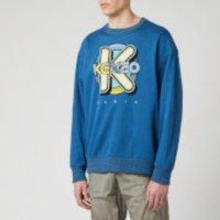 KENZO Men's Wetsuit Oversize Sweatshirt - Duck Blue - M