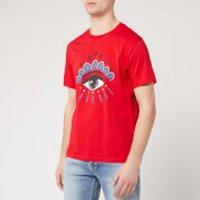 KENZO Men's Classic Eye T-Shirt - Medium Red - M