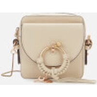 See By Chloé Womens Joan Mini Camera Bag - Cement Beige