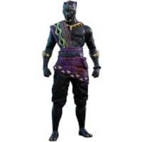 Hot Toys Marvel Black Panther Movie Masterpiece Action Figure 1/6 TChaka 2018 Toy Fair Exclusive 31cm