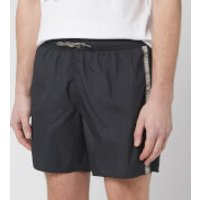 Emporio Armani Men's Logo Tape Boxer Swim Short - Nero - 54/XL