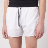 Emporio Armani Men's Classic Swim Shorts - White - 48/S
