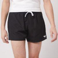 Emporio Armani Men's Classic Swim Shorts - Black - 52/L