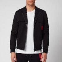 HUGO Men's Urel Zip Jacket - Black - S