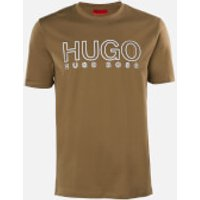 HUGO Men's Dolive-U202 T-Shirt - Dark Beige - M