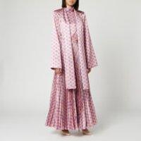 Solace London Women's Elin Midaxi Dress - Nude/Lilac - UK 8