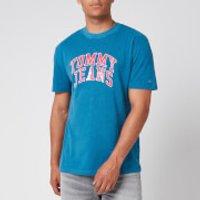 Tommy Jeans Men's Novel Varsity Logo T-Shirt - Audacious Blue - XL