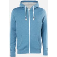 Tommy Jeans Men's Zip Hoody - Audacious Blue - XXL