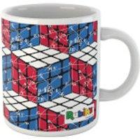 Rubik Scientific Equations Red Blue White Cube Mug Mug