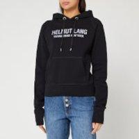 Helmut Lang Women's Slim Hoody - Basalt Black - L