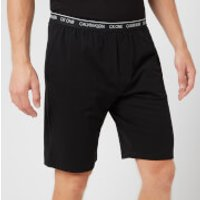 Calvin Klein Men's Sleep Shorts - Black - XL