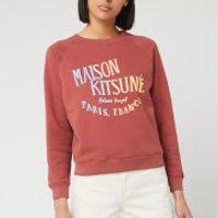 Maison Kitsune Women's Sweatshirt Palais Royal - Dark Pink - M