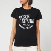 Maison Kitsune Women's T-Shirt Palais Royal - Black - S