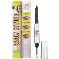 benefit Brow Styler Eyebrow Pencil & Powder Duo 1.1g (Various Shades) - 3.75 Warm Medium Brown
