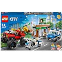 LEGO City Police: Police Monster Truck Heist (60245) - Monster Truck Gifts