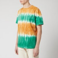 Wooyoungmi Men's Tie Dye T-Shirt - Orange - S