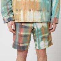 Wooyoungmi Men's Tie Dye Shorts - Camel - S