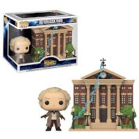 Image of Back to the Future Doc with Clock Tower Pop! Town
