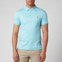 Polo Ralph Lauren Men's Pima Cotton Slim Fit Polo Shirt - Beach Aqua Heather - M