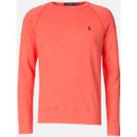 Polo Ralph Lauren Men's Towelling Lightweight Sweatshirt - Racing Red - S