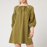 Superdry Women's Arizona Peek A Boo Dress - Capulet Olive - UK 8
